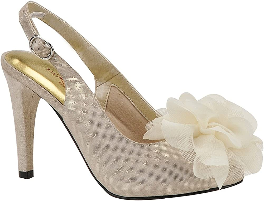 Over item handling ☆ Ros Hommerson Women's Vienna Excellence Champange 10.5 W D Microdot Pump