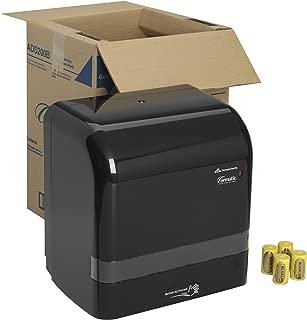 "Cormatic Automated Paper Towel Dispenser by GP PRO (Georgia-Pacific), Black, ADS200B,14.250"" W x 9.100"" D x 15.500"" H"