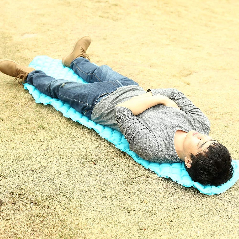 Leezo aufblasbare Schlafmatte Ultralight kompakte aufblasbare Auflage-Matratzen-feuchtigkeitsfeste Luft-Bett für Das Wandern des wandernden und kampierenden Hängematten-Zelt-kampierenden Reisens B07HF427WJ  Der neueste Stil