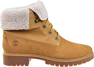 timberland women's teddy fleece fold down waterproof boot