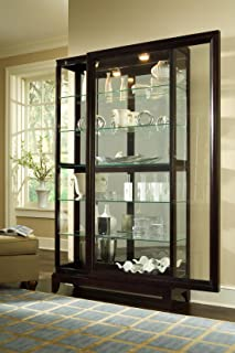 Best glass front curio cabinet Reviews