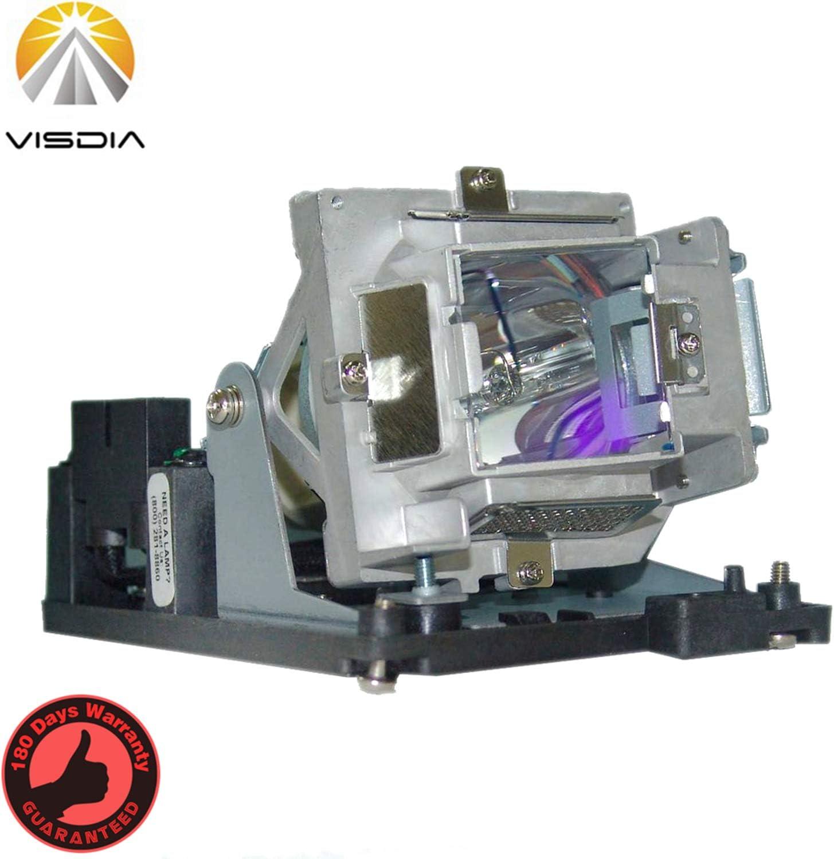 5811116713-SU/5811116781-S/PRM35 Replacement Projector Lamp with Housing for VIVITEK D850 D851 D853W D855ST D856ST D856STPB D857WT D858WTPB D859 D85ESTA D85ESTD Projectors by Visdia