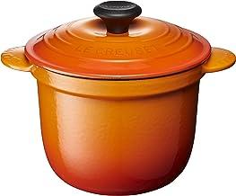ル・クルーゼ(Le Creuset) 鋳物 ホーロー 鍋 ココット・エブリィ 18 オレンジ ガス IH オーブン 対応 【日本正規販売品】