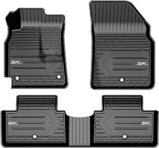 3WFloorMatsCompatible for Chevrolet Equinox 2018-2021TPEAllWeatherCustomFitFloorLinerfor Chevrolet Equinox 1stand2ndRowFullSet CarlinersBlack
