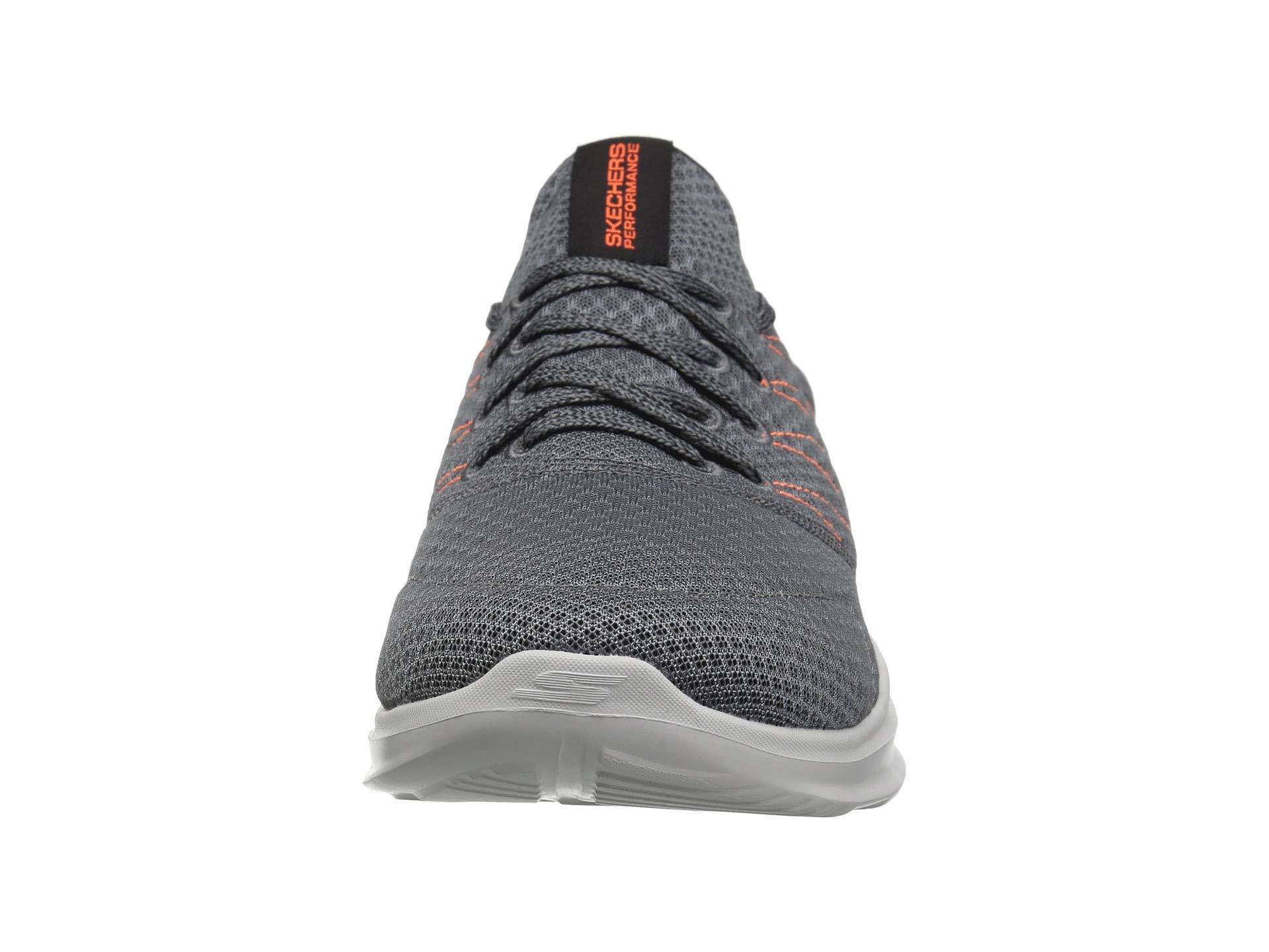 Skechers Charcoal orange 54845 Run Mojo Performance Go Crf0C