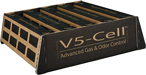 IQAir Certified V5 Cell Gas Odor Replacement Filter MCS VOCs Formaldehyde Odors Pets Swiss Made
