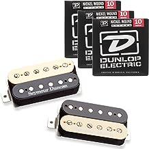 Seymour Duncan 11108-49-Z Pearly Gates Zebra Pickup Set w/ 3 Sets of Strings