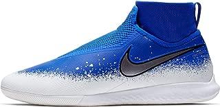 React Phantom Vision Pro DF IC Soccer Shoes (Racer Blue/White/Chrome) (Men's 10.5/Women's 12)