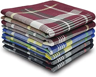 Selected Hanky 100% Cotton Men's Handkerchief 6 Piece Gift Set