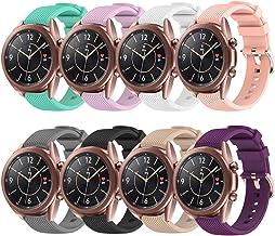 Huadea Bands Replacement for Samsung galaxy watch 3 (41mm), Galaxy Watch Active 2 40mm/44mm, Galaxy Active 40mm, Galaxy Wa...