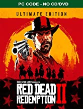 Red Dead Redemption 2: Ultimate Edition Rockstar Social Club PC Code (No CD/DVD)