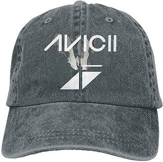 Triple Moon Pentacle Plain Adjustable Cowboy Cap Denim Hat for Women and Men