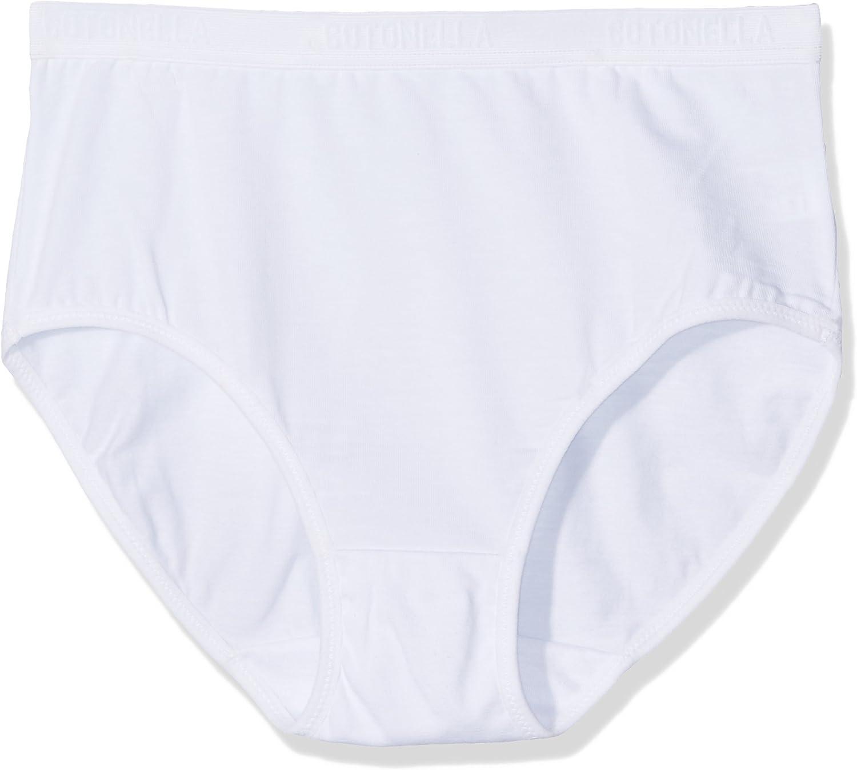 Slip midi Cotonella 8126 da donna in cotone elastico 2 paia