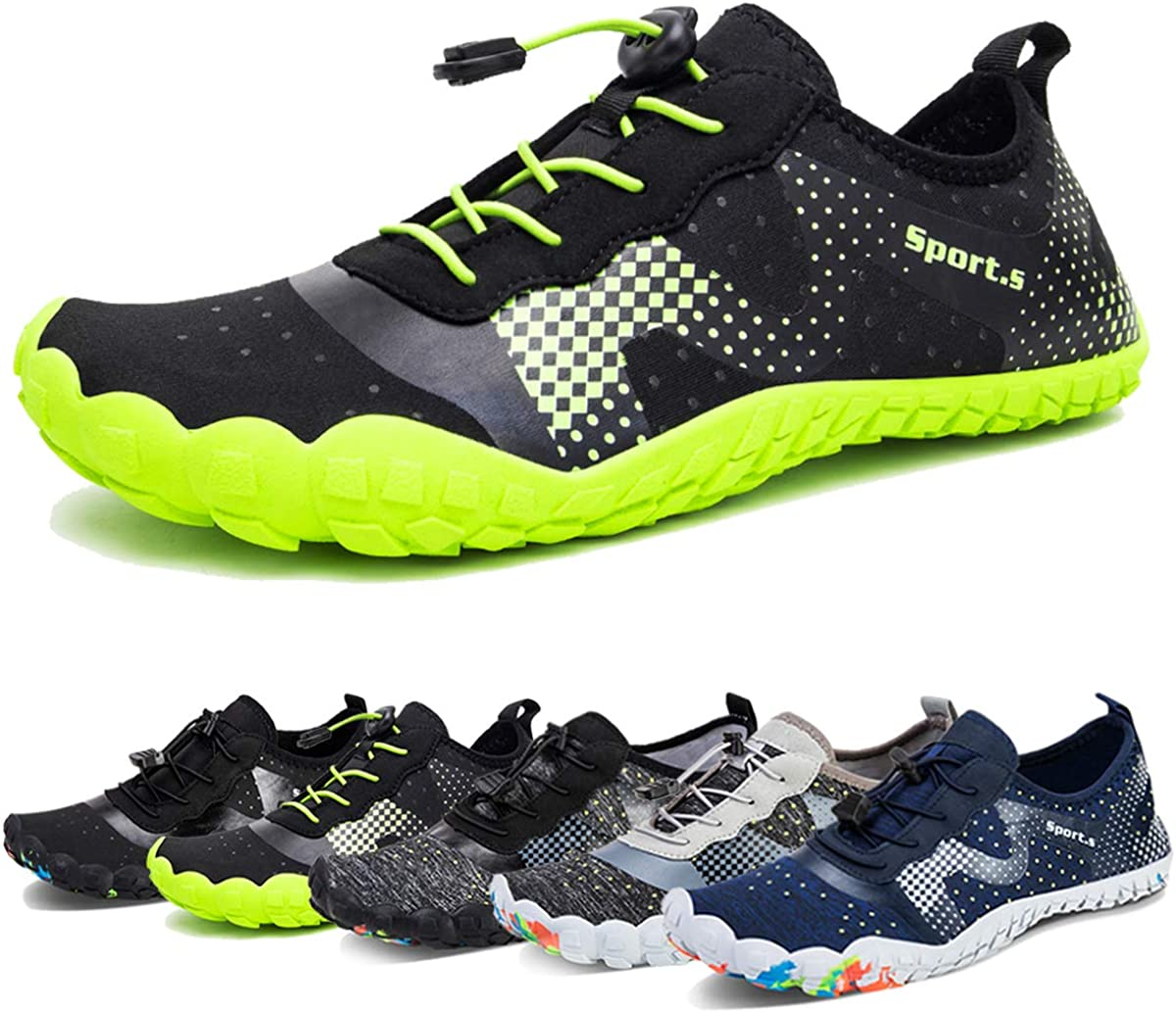 Ranking TOP9 Fees free Water Shoes for Men Barefoot Athleti Sock Aqua Quick-Dry Outdoor