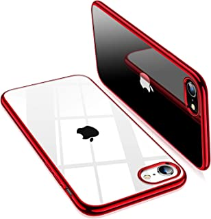 TORRAS TORRAS Crystal Clear iPhone 8 Case/iPhone 7 Case, [Upgraded] Soft TPU with Stylish Edge Slim Thin Silicone Gel Tran...