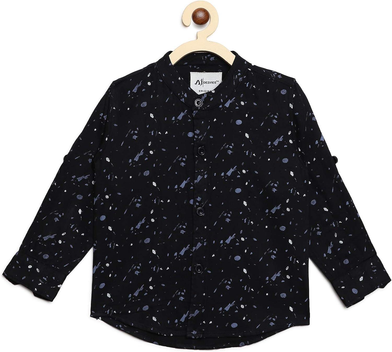 AJ DEZINES Kids Indian Wear Button for Printed Baby Shirt Finally popular brand Down Sale B