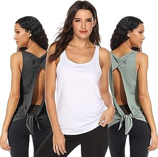 neueste heißer Verkauf online moderate Kosten Damen Abollria Sport Tops Damen Yoga Top Fitness Tank Top ...