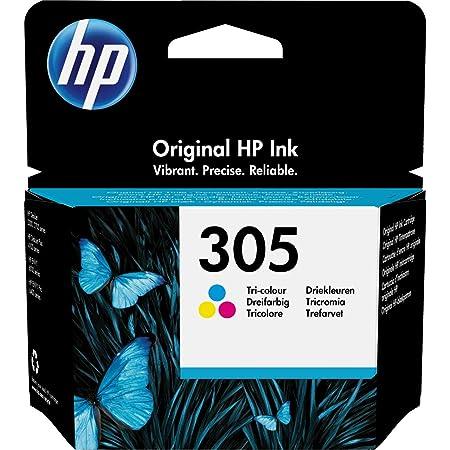 HP 305 3YM60AE Cartuccia Originale, da 100 Pagine, per Stampanti a Getto di Inchiostro HP DeskJet 2700, 2730, 4100, 4134 e HP ENVY 6020, 6022, 6030, 6032, 6420, 6422, 6430, 6432, Tricromia