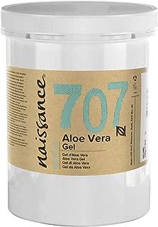 Naissance Gel de Aloe Vera n. º 707 – 1kg - Vegano y no probado en animales - Refrescante, calmante e hidratante para todo tipo de pieles.