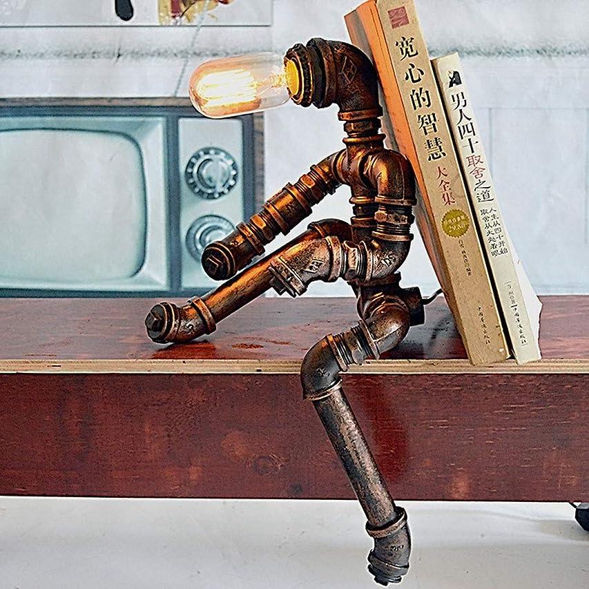 マーティンルーサーキングジュニアいつもホストRXY-101 アメリカンレストランバー錬鉄パイプテーブルランプヴィンテージライティングデスク装飾デスクライト
