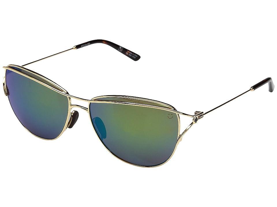 Spy Optic Marina (Gold/Gold/Happy Bronze/Emerald Spectra) Sport Sunglasses
