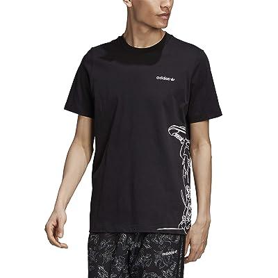 adidas Originals Goofy Tee (Black/White) Men