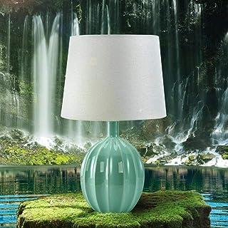 Lampe de Table méditerranéenne Moderne Chinois Lampes en céramique Chambre Lampe de Chevet créatif Mode Lampe Bleu