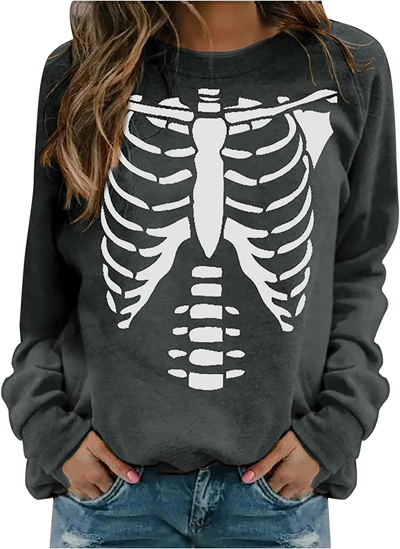 Halloween Cardigan for Women,Long Sleeve Open Front Cardigan Funny Cute Pumpkin Graphic Soft Lightweight Tops