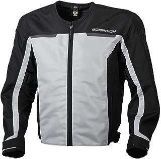 ScorpionExo Men's Drafter II Jacket (Silver, Large)