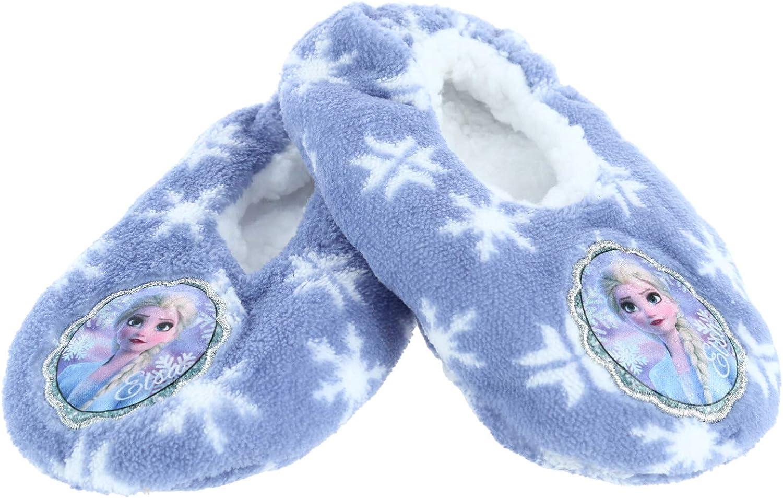 Textiel Trade Girls Disney Frozen Elsa Snowflake Slippers