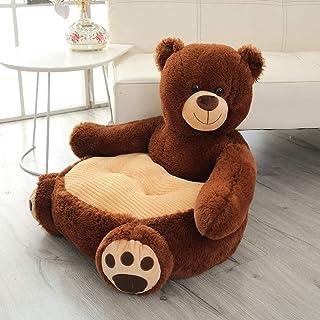 Kids Sofa Seat Children's Chair Armchair Animal Sofa Seat Brown Bear Shape