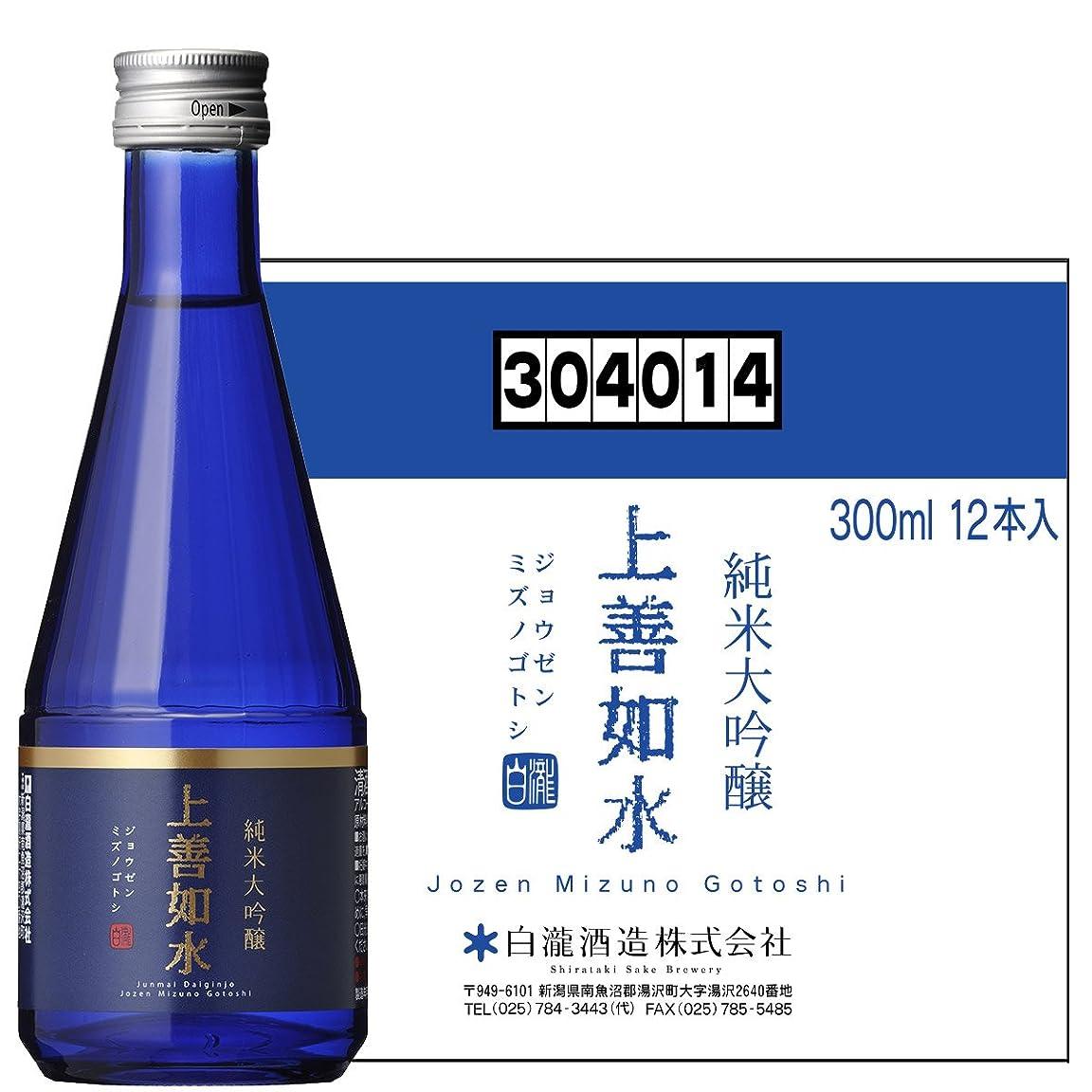 重力クリスマスリダクター白瀧酒造 上善如水 純米大吟醸 300ml×12本