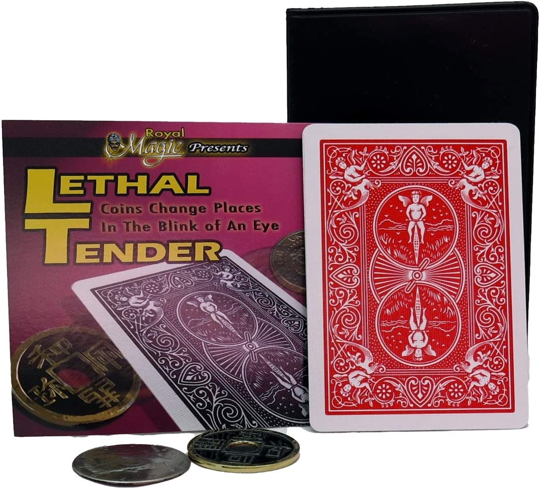 price Royal Magic Lethal Tender Coin from Card Trick Wallet Simple Quantity limited