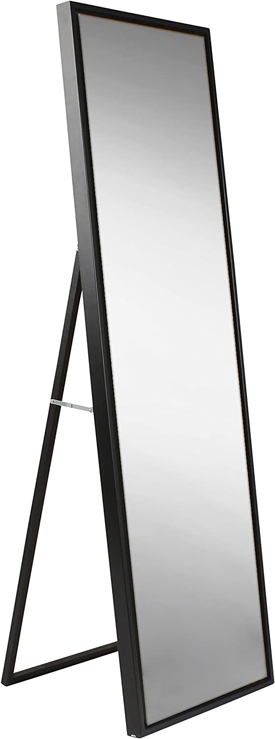 Kate OFFicial store and Laurel Direct stock discount Evans Wood Framed Free Standing with Ease Mirror