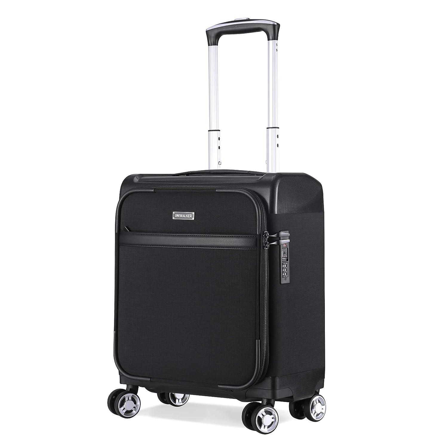 絶滅作り上げる昼寝Uniwalker 防水加工 スーツケース 機内持込 小型 超軽量 キャリーケース TSAロック トランク 静音4輪 ビジネス キャリーバッグ 機内持込可 旅行 出張