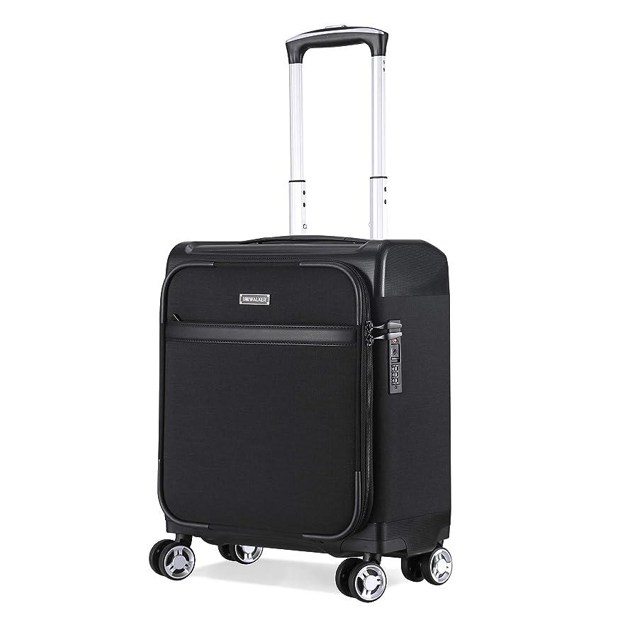 支援事故衣服Uniwalker 防水加工 スーツケース 機内持込 小型 超軽量 キャリーケース TSAロック トランク 静音4輪 ビジネス キャリーバッグ 機内持込可 旅行 出張