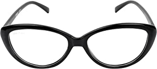 CREATURE UV Protected Cat-Eye Unisex Glasses - (SUN-032|Black)