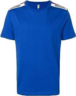 Underwear Tape Logo T-Shirt in Blue