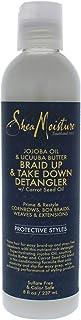Shea Moisture Jojoba Oil and Ucuuba Butter Braid Up and Take Down Detangler by Shea Moisture for Unisex - 8 oz Detangler, 294.83 grams