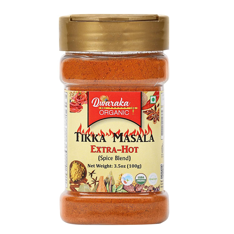 Dwaraka Organic - Extra Hot Healthy Tikka Don't miss the campaign 3.5oz Washington Mall Organi Masala
