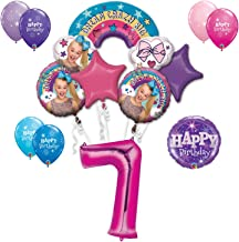 JoJo Siwa 7th Birthday Party Large Decoration Balloon Bundle, for 7 Year Old