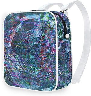 DEZIRO Mochila de hombro con purpurina Pixel mochila escolar