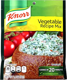 Knorr Vegetable Recipe Mix 1.4 Ounce Packet (Pack of 3)