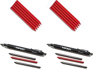 FastCap Fatboy Extreme Carpenter 5.5mm (2) Mechanical Pencils with (10) Refills