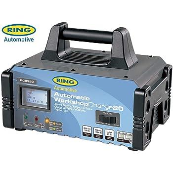 Ring Automotive Anillo RCB312 12 Amp Cargador de bater/ía Taller 6 12v