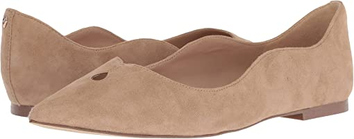 Oatmeal Suede Leather