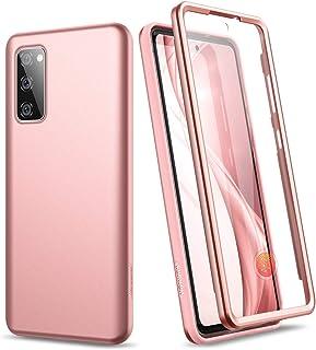 SURITCH Hülle für Samsung Galaxy S20 FE Handyhülle Bumper Glitzer Case Stossfest Case 360 Grad Schutzhülle Cover mit Integ...