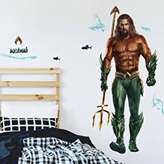 RoomMates Aquaman Peel And Stick Giant Wall Decals