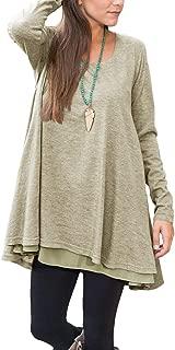 Best long lace shirt dress Reviews