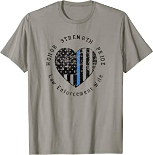 law enforcement wife shirts